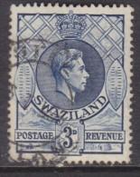 Swaziland, George VI, 1 1/2d , Perf 13.5 X 14,  Used, - Swaziland (...-1967)