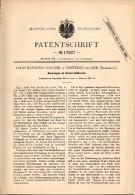 Original Patentschrift - L. Napoléon Valasse Dans Fontenay Sous Bois ,1881 , Serrure De Pistolet, Arme à Feu !!! - Dokumente