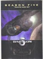 BABYLON 5    SEASON 5     WARNER  BROS.  1998 - Babylon 5
