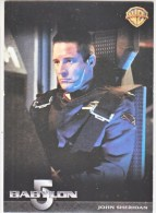 BABYLON 5    JOHN  SHERIDAN     WARNER  BROS.  1998 - Babylon 5