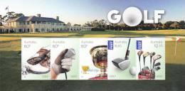 Australia 2011 Golf  Souvenir Sheet  MNH - 2010-... Elizabeth II