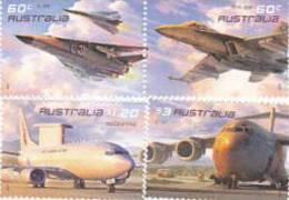 Australia-2011 Air Forcw Aviation MNH Set - 2010-... Elizabeth II