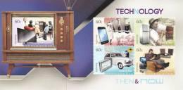 Australia 2012 Technology Then & Now  Souvenir Sheet  MNH - 2010-... Elizabeth II