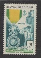 N217- WALLIS ET FUTUNA . SCOTT # : 149 . MH.  CENTENAIRE DE LA MEDAILLE MILITAIRE - Wallis-Et-Futuna