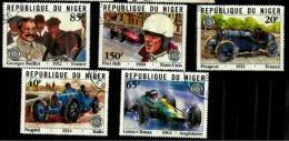 Niger Scott N° 563.564.565.566.567. .oblitérés - Niger (1960-...)