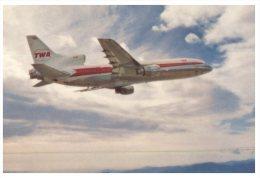 (119) TWA L 1011 Aircraft - Avion TWA - 1946-....: Moderne