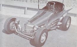 CUSTOM  CAR  WILD  DREAM    READ  BACKSIDE - Postcards