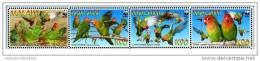 (WWF-440) W.W.F. Malawi Lilian Lovebird / Birds/ Bird MNH Stamps 2009 - W.W.F.