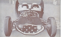 CUSTOM  CAR  MANTA  RAY  1932  FORD    READ  BACKSIDE - Postcards