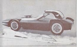 CUSTOM  CAR  SCORPION  1949  FORD     READ  BACKSIDE - Postcards