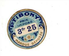 étiquette PTIBONY - Etiquettes