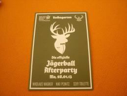 Volksgarten - Austria Advertising Postcard/carte Postale - Pubblicitari