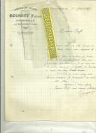 25 - Doubs - CHARMOILLE - Facture ROUSSEY - Fabrique De Chaises – 1930 - France