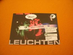 Woman/Femme/Party/Volksgarten - Austria Advertising Postcard/carte Postale - Pubblicitari