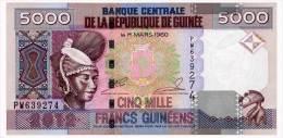 GUINEA 5000 FRANCS 2012 Pick 41b Unc - Guinea