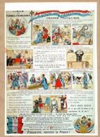 Illustration : A TOUTES LES FRANCAISES : LIGUE DES FEMMES FRANCAISES, FRANCAISES SAUVONS LA FRANCE... - Non Classés