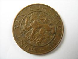 NETHERLANDS CUR ACAO NEDERLAND 2 1/2 CENTS  1947   COIN  LOT 27 NUM  9 - Nederland