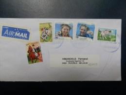 42/015C   LETTRE  AUSTRALIE - Covers & Documents