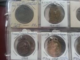 Collection +300 Medailles Schutterswedstrijden, Tir, Chasseurs, Enz., 1900-1950, ENORM !!! - Belgium