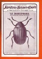 Jardins & Basses Cours - 1925 Le Doryphore Ravageur De Pommes De Terre - Books, Magazines, Comics