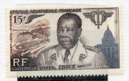 Serie Nº  A-61 Africa Ecuatoriale Francesa - Nuevos