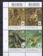 (WWF-487) W.W.F Slovenia MNH Stone Crayfish Stamps 2011 - W.W.F.