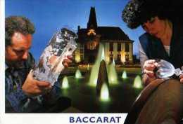 54 BACCARAT , Verre, Vase - Baccarat