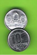 BRASIL - 10 Centavos 1989   KM613 - Brasil