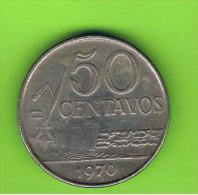 BRASIL - 50 Centavos 1970   KM580 - Brasil