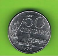 BRASIL - 50 Centavos 1976   KM580 - Brasil