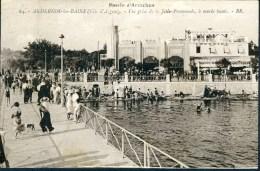 CPA  ANDERNOS-les-BAINS - Vue Prise De La Jetée-Promenade, à Marée Haute (très Animée) - Andernos-les-Bains