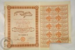 Old Share - Action Establissements Vedy Societe Anonyme - Paris - 1923 - Acciones & Títulos