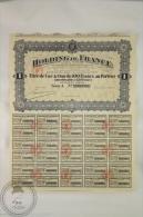 Old Share - Action Holding De France - Titre De Une Action De 100 Francs - Sede Social: Paris 1931 - Industrial