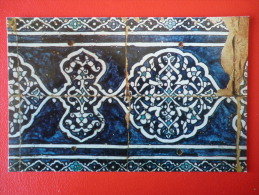Tash-Khauli Mural , Fragment  - Khiva - 1971 - Uzbekistan USSR - Unused - Uzbekistan