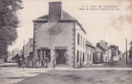 Cpa-29-lesneven-animée-- Entree De La Ville,route Du Folgoet-edi L.P. N°10 - Lesneven