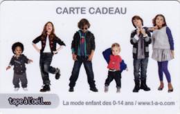## Carte  Cadeau    TAPE A L'OEIL  ##    Gift Card, Giftcart, Carta Regalo, Cadeaukaart - France