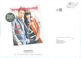 BRD Mannheim Infopost P FRW Engelhorn Trendhouse Mode Mann + Frau - Textil