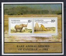 Hb-39  Tanzania - Rinocerontes