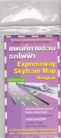 Map Of Expressway Skytrain - Bangkok - In English - Geographische Kaarten