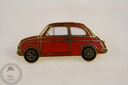 Classic Car - Fiat / Seat 600 Tipe - Red Colour  - Pin Badge - Fiat
