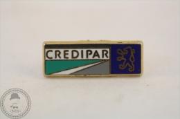 Peugeot Credipar Advertising  Pin Badge - Peugeot