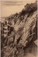 Lyon : Catastrophe De Lyon-St-Clair, 8 Mai 1932 : Vue D'ensemble Des Ruines Et Du Glissement De Terrain (Edit. Pascalet) - Lyon