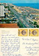 Riccione, Italy Italia Postcard Posted 1980 Stamp - Rimini