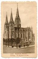 LEMBERG PER ZAGREB 1916 - Cartes Postales