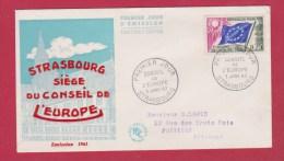 PREMIER JOUR  //  ENV  //  CONSEIL DE L EUROPE  //  3 JANV 1963 - 1960-1969