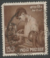 India. 1961 Children's Day. 15np Used. SG 443 - India