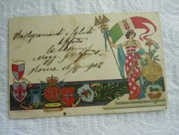 "CARTOLINA "" -REGIMENTALE --93 REGGIMENTO  FANTERIA ROMA - Regiments"