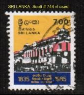 SRI LANKA   Scott  # 744  VF USED - Sri Lanka (Ceylon) (1948-...)