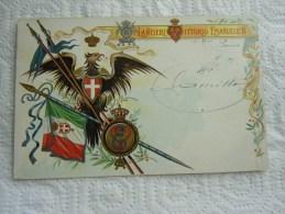 "CARTOLINA "" -REGIMENTALE --LANCIERI DI VITTORIO EMANUELE II - Regiments"