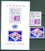 Liberia 1959 Unesco MNH** - Lot. A311 - Liberia